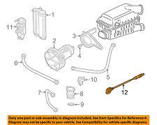 VW VOLKSWAGEN OEM 01-05 Beetle-Oxygen O2 Sensor 06A906262BG