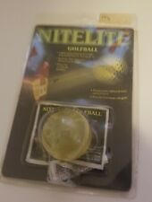 Nitelite Light Up Golf Ball Official Golf Size and Weight Ball New Sealed