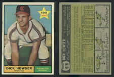 (46831) 1961 Topps 416 Dick Howser RC SP Athletics-EM
