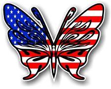 TRIBALE TATUAGGIO A FARFALLA STILE AMERICAN Stelle & Strisce USA bandiera