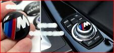 BMW //M Multimedia Console Epoxy Badge Emblem 2.9CM Diameter Fits BMW 3 Series