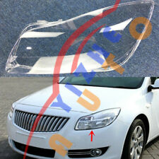 1*Left Side Headlight Cover Transparent PC with Glue For Buick Regal 2009~2013-W
