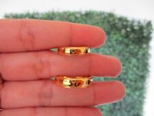 Wedding Rings 18k Yellow Gold WR199 sep (MTO)