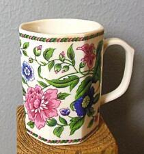 "Oriental Flower Mug Takahashi 8 Sided 4"""