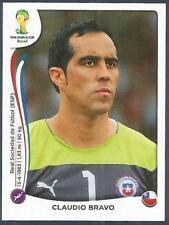 PANINI WORLD CUP 2014- #148-CHILE-CLAUDIO BRAVO