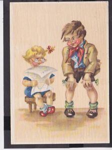 A12 /   Wiro  Kunstkarte 1948 / .. Bauer / Kinder
