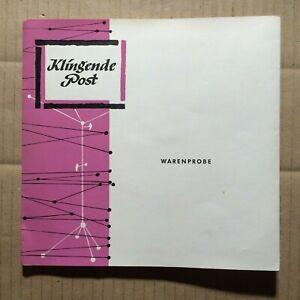 """V/A - KLINGENDE POST - FOLGE 11 - 7""""-EP - PROMO - WARENPROBE (2)"""