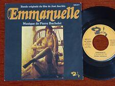 45T BOF/OST EMMANUELLE PIERRE BACHELET -  Sylvia KRISTEL 1974