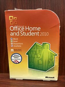 Microsoft Office Home and Student 2010 Military Edition With Product Key