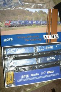 HS ACME 45111 Containertragwagen  GTS Barilla  Nudelzug  mit je zwei Containern