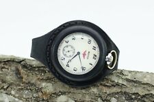 Leather strap 50mm Black New Antique WW1 times For Pocket Watch WWII