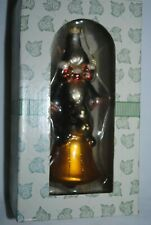 Charming Tails, Fitz and Floyd, glass ornament, Ringing in the Season, Mib
