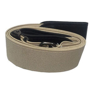 Women Invisible Elastic Buckle-Free Belt for Jeans No Bulge Hassle Waistband Hot