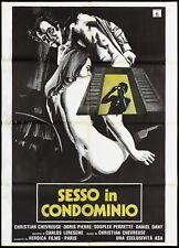 Sexe IN Condominium Manifesto les Petits Lingerie des Grands Blues Poster 2F