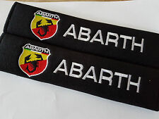 FIAT ABRATH Seat Belt Shoulder Pads Cover Cushion 50% BARGAIN LAST FEW LEFT DEAL