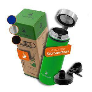 coolrhino® Edelstahl Trinkflasche Isolierflasche Thermos-Flasche Wasserflasche