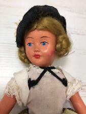 """Vintage Antique Doll Hard Plastic Strung 8"""""""