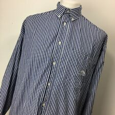 Mens Vintage 90's Cottonfield By Carli Gry Gingham Shirt - XL - Blue / White