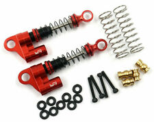 4pcs KYX Racing 37mm Metal Suspension Shock Absorber Upgrades Parts Accessories for 1//24 RC Crawler Car Axial SCX24 AXI90081 AXI00001 AXI00002 AXI00004 Red