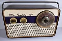 Vintage 1950's ULTRA Transistor 101 Collectable Radio - Untested Parts or Repair