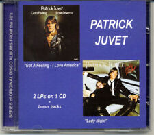 Patrick Juvet - Got a Feeling / I Love America + Lady Night CD Jean-Michel Jarre