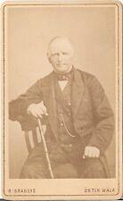CDV photo Feiner Herr - Öster Wala 1880er