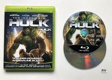 The Incredible Hulk (Blu-ray Disc, 2008, 2-Disc Set) Canadian with Digital Copy