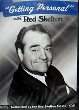 RED SKELTON GETTING PERSONAL, DVD,RARE INTERVIEW 1992 ,SONGS, LOVE ,TV SHOW