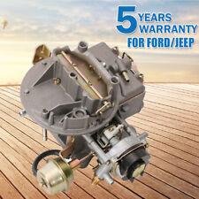 Fit 1964-1984 Ford F150 F250 F350 Jeep 360 2100/A800 Engine 2 Barrels Carburetor