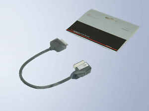 Original Audi Adapter Ipod IPHONE 4F0051510AG USB Music Interface Adapter Set