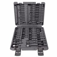 ATD 50pc Master Impact Bit Set, SAE & Met Hex,Torx, Screwdriver & Adapters #551