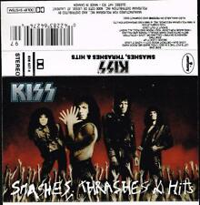 Kiss Cassette Tape Smashes Thrashes And Hits  k7  Printed In Canada U.S. Seller