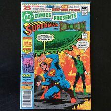 DC Comics Presents Superman & Green Lantern Comic Book
