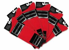 6 Pair of Biagio Solid RED Color Mens COTTON Dress SOCKS