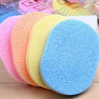Natural Facial Sponge Compressed Puff Face Clean Wash Random Sponge Cleansi U1P5