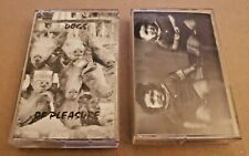 LOT OF 2 1994 Cassette Tapes DOGS OF PLEASURE - Rare Denver HARD ROCK Migrane ++