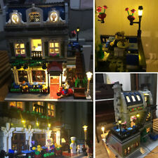 Updated Led light Kit for lego 10243 Creator Parisian Restaurant Expert lighting
