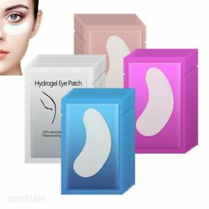 100 Pairs Under Eye Pads Paper Patches Eyelash Extension Hydrating Sticker Wraps