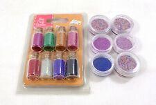 14 Mini Caviar Beads Nail Art Bottles False Nail Tips Scrap Booking Crafts