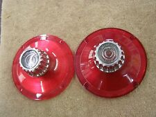 NOS OEM Ford 1964 Falcon Tail Light Lenses for Backup Lamps