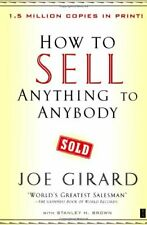 How to Sell Anything to Anybody by Girard, Joe Paperback Book The Fast Free