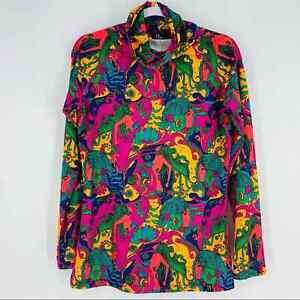 NEVE Designs Women's size M Mermaid Graphic Print Base Layer Ski Sweatshirt