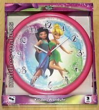 Kinder Wanduhr Motiv Tinker Bell NEU/OVP