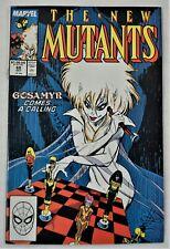 THE NEW MUTANTS #68 OCT 1988 Marvel Comics Group Direct NM