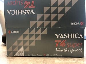 BRAND NEW IN BOX!! Yashica T4 Super Weatherproof 35mm F3.5 Lens