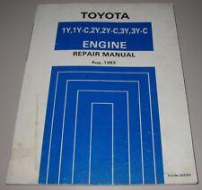 Werkstatthandbuch Toyota Motor Engine 1Y 1Y-C 2Y 2Y-C 3Y 3Y-C Crown Hiace Hilux