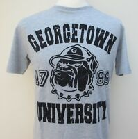 Men's American Freshman Georgetown Short Sleeve T-Shirt Top Tee Cotton S M L