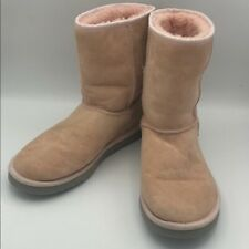 UGG Australia Classic Short Blush Pink Sheepskin Lined Boots 5825 Warm Boots 7
