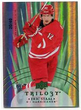 2014-15 Upper Deck Trilogy Radiant Green 59 Eric Staal 20/40