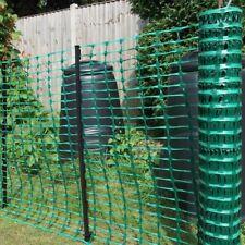 Rete da cantiere edilizia per recinzione in plastica estrusa verde professionale
